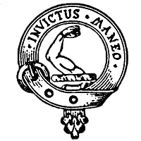 Armstrong Crest - Motto: Invictus maneo (I remain unvanquished)